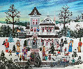 Nutcracker Fantasy 1990 28x24 Original Painting - Jane Wooster Scott