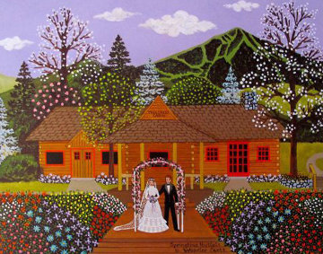 Springtime Nuptials 1980  Limited Edition Print - Jane Wooster Scott