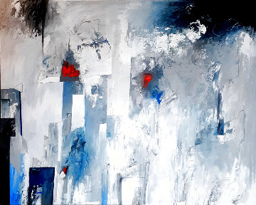 Untitled Abstract Painting 2020 40x50 Original Painting - W. Scott Wilson