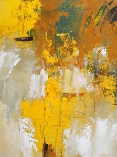 Untitled Painting 2020 16x12 Original Painting - W. Scott Wilson