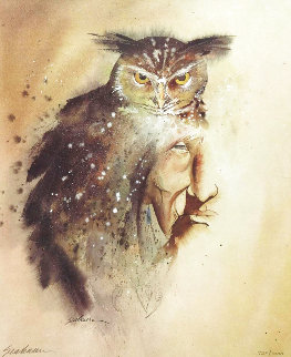 Owl Knows My Name Limited Edition Print - Bert Seabourn