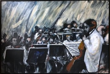 Libbey Bowl 2006  51x75 Original Painting - Ernesto Seco