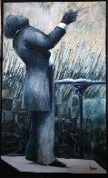 Circa 21st 2006 68x39 Super Huge Original Painting by Ernesto Seco - 0