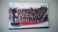 Cresendo 2003  40x60 Super Huge Original Painting by Ernesto Seco - 1