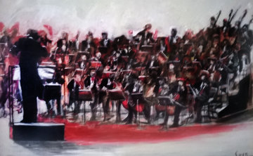 Cresendo 2003  40x60 Original Painting by Ernesto Seco