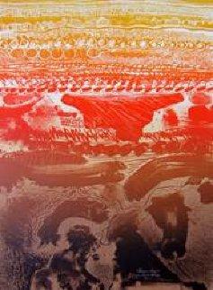 Double Horizontal Canyon Limited Edition Print by Arthur Secunda