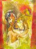 Chet Baker Monotype 2010 30x22 Works on Paper (not prints) by Arthur Secunda - 0