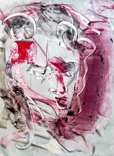 Lenny Tristano Monoprint 2010 30x22 Works on Paper (not prints) by Arthur Secunda