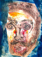 Ron Carter Monotype 2010 30x22 Works on Paper (not prints) by Arthur Secunda - 0