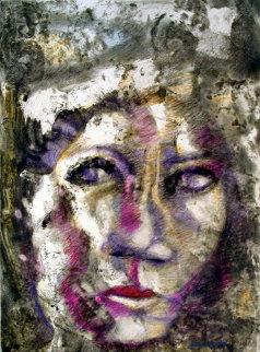 Anna Ahkmatova Works on Paper (not prints) by Arthur Secunda