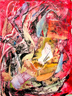 Lester Young 2010 Monotype 30x22 Works on Paper (not prints) by Arthur Secunda - 3