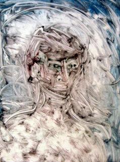 Samuel Beckett Monotype 1998 30x22 Works on Paper (not prints) by Arthur Secunda