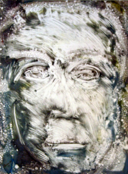 Puccini Monotype 1998 30x22 Works on Paper (not prints) by Arthur Secunda