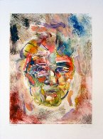 Hans Hofmann Monotype 1998 30x22 Works on Paper (not prints) by Arthur Secunda - 1