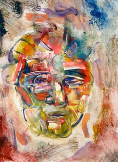 Hans Hofmann Monotype 1998 30x22 Works on Paper (not prints) by Arthur Secunda