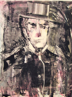 On the Town Monotype 2008 30x22 Works on Paper (not prints) - Arthur Secunda