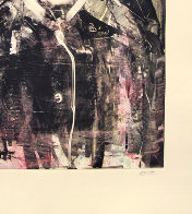 On the Town Monotype 2008 30x22 Works on Paper (not prints) by Arthur Secunda - 2