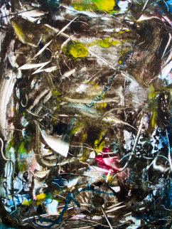 Trees, Vines, and Lianas 2008 30x22 Works on Paper (not prints) by Arthur Secunda