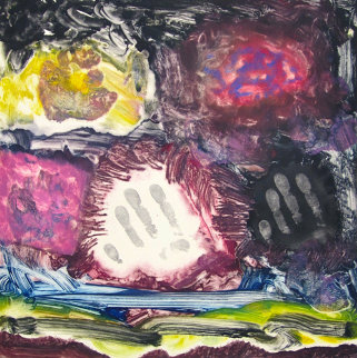 Goodbye to Youth Monotype 2008 30x22 Works on Paper (not prints) by Arthur Secunda