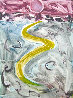 Yellow Brick Road Monotype 2008 Beatles Works on Paper (not prints) by Arthur Secunda - 0