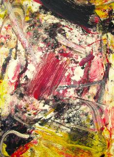 Chaos Monitype 2008 Works on Paper (not prints) - Arthur Secunda
