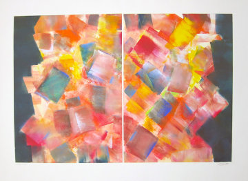 Mirrored Prism 2008 Works on Paper (not prints) by Arthur Secunda