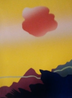 Fireball Cloud  1980 Limited Edition Print - Arthur Secunda