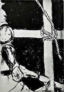 Don Quixote 1968 Limited Edition Print - George Segal