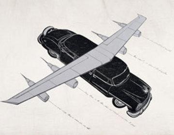 Todos Quisierom Volar: Hibrida De Limo Chrysler New Yorker 2006 Limited Edition Print - Esterio Segura
