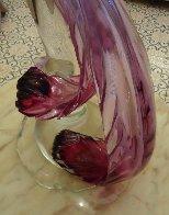 Bird's Paradise Glass Sculpture 1972 46 in  Sculpture by Livio Seguso - 4