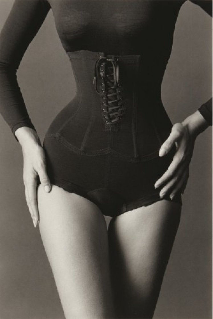Corset 1962 Limited Edition Print by Jeanloup Seiff