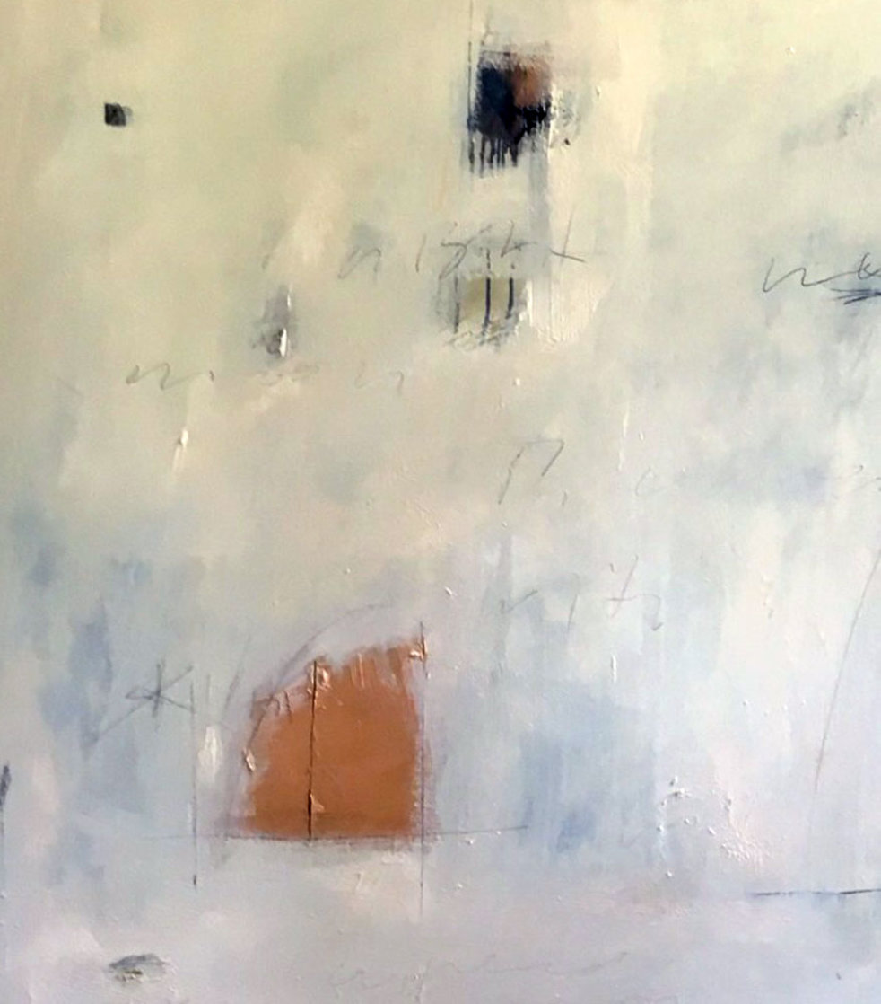 Skin Moon 60x60 Original Painting by Steven Seinberg