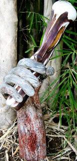Glass Age Unique Sculpture 2010 18 in  Sculpture - Ron Seivertson