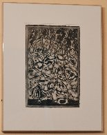 Excavations #29  1978 18x14 Works on Paper (not prints) by Charles Seliger - 1