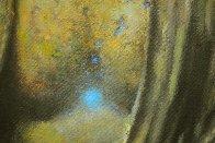 Buddha 2015 40x30 Original Painting by Robert Semans - 2