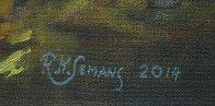 Buddha 2015 40x30 Original Painting by Robert Semans - 4