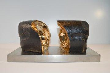 Unidad Yunta / Yoke Unity Bronze Sculpture 1984 Sculpture - Pablo Serrano