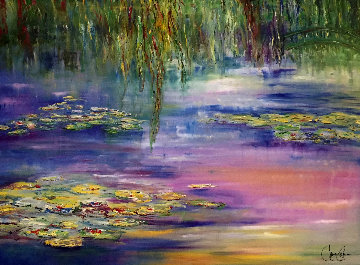 Dreams of Giverny 2003 Limited Edition Print - Jane Seymour