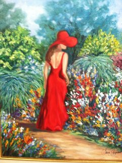 Lady in the Garden 2007 Limited Edition Print by Jane Seymour