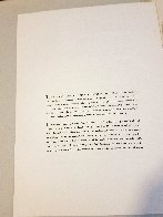 Nine Drawings By Ben Shahn Portfolio of 9 Prints 1965 Limited Edition Print by Ben Shahn - 11