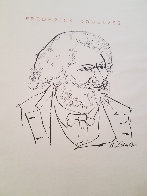 Nine Drawings By Ben Shahn Portfolio of 9 Prints 1965 Limited Edition Print by Ben Shahn - 2