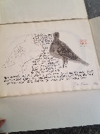 Nine Drawings By Ben Shahn Portfolio of 9 Prints 1965 Limited Edition Print by Ben Shahn - 8