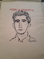 Nine Drawings By Ben Shahn Portfolio of 9 Prints 1965 Limited Edition Print by Ben Shahn - 4
