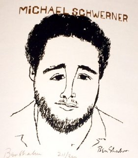 Human Relations Portfolio: Chaney, Goodman And Schwerner  1965 Limited Edition Print - Ben Shahn