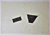Untitled Woodblock Print 1987 Limited Edition Print by Joel Shapiro - 1