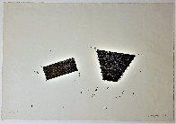 Untitled Woodblock Print 1987 Limited Edition Print by Joel Shapiro - 2