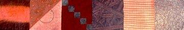 Savasan  19-MI Monoprint 1988 23x86 Super Huge  Works on Paper (not prints) - David Shapiro