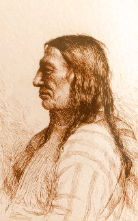 Bull Thigh - Cheyenne Limited Edition Print - Joseph Henry Sharp