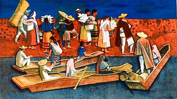 Going to Market Limited Edition Print - Millard Sheets