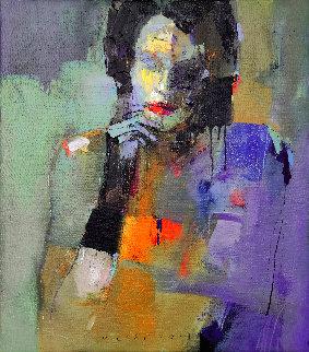 Choice 2021 38x34 Original Painting - Victor Sheleg